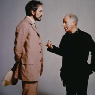 With Peter Brook